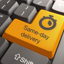 Same Day Delivery: Staan we aan de vooravond van een e-commerce levertijd-revolutie ?